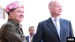 Hague û Barzani