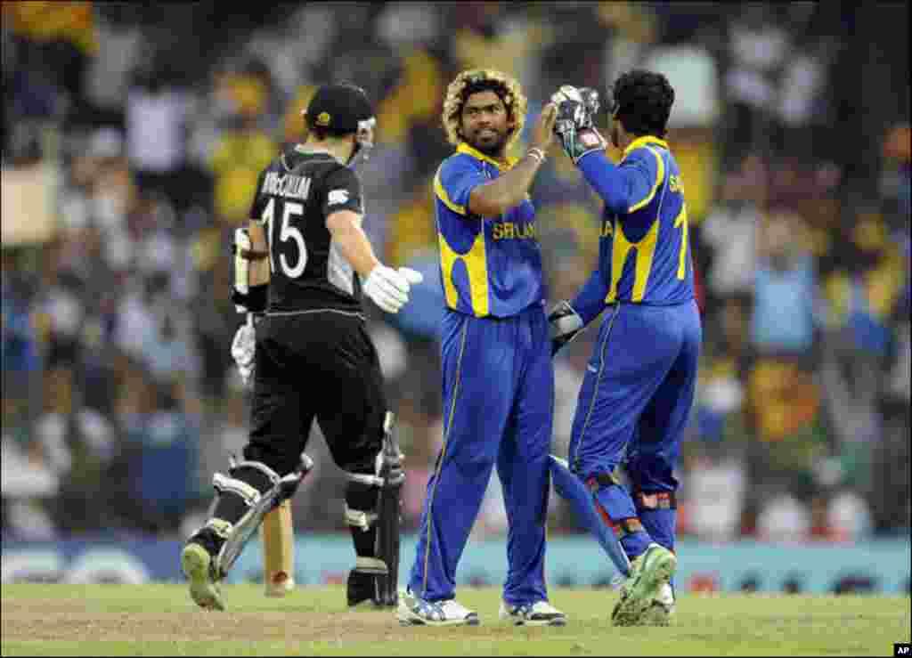 سیمی فائنل: سری لنکا بمقابلہ نیوزی لینڈ
