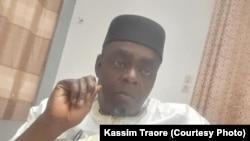 Issa Kaou Djim, un des leaders du M5 RFP. (Kassim Traoré/ VOA)