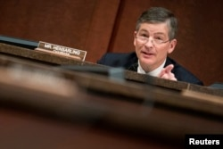 FILE - Chairman of the House Financial Services Committee Jeb Hensarling (R-TX).