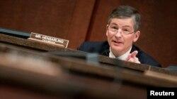 El presidente de la Comisión de Servicios Financieros de la Cámara de Representantes de EE.UU. Jeb Hensarling se opone al Ex-Im Bank.