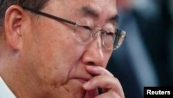 """Desde Viena, el secretario general de ONU, Ban Ki-moon pidió """"darle una oportunidad a la diplomacia""""."""