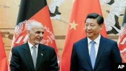 محمد اشرف غنی در نخستین سفر خارجی اش به حیث رئیس جمهور افغانستان به چین رفت.