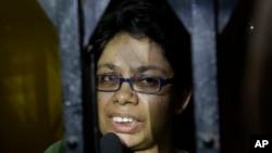 خانم دیسوزا در شب ۲۲جوزا، از منطقۀ تایمنی شهر کابل ربوده شده بود.
