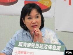 台灣在野黨國民黨立委柯志恩 (美國之音張永泰拍攝)
