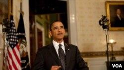 """Reunir a israelíes y palestinos para negociar es """"realmente muy difícil"""", dijo Obama."""