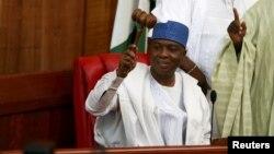 Sanata Bukola Saraki, président du Sénat du Nigeria