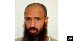 Cette photo non datée publiée par l'avocat Shelby Sullivan-Bennis le 11 décembre 2017 montre son client, le Marocain Abdullatif Nasser, à la prison de Guantanamo Bay, à Cuba.