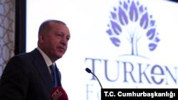Erdogan in New York 2019