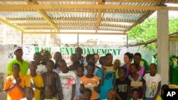 Baol Environment students, Diourbel, Senegal, December 5, 2011.