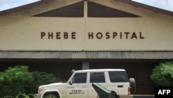 L'hôpital Phebe, dans la ville de Bong, dans le centre du Libéria, le 27 mai 2019.