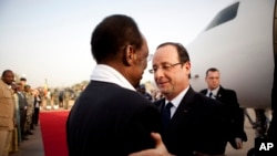 French President Hollande's Trip to Mali