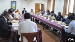 Task Force Meeting on Sino-Tibetan Negotiation (photo:tibet.net)
