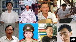 Eight Vietnamese writers are among 48 writers from 24 countries to receive the Hellman/Hammett award on Sept. 14, 2011 (courtesy of Human Rights Watch).