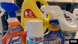 Các chất tẩy rửa có thể gây chết người nếu được đưa vào cơ thể