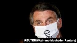 Žair Bolsonaro, predsednik Brazila (REUTERS/Adriano Machado)