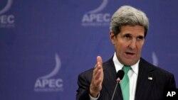 Ngoại trưởng Hoa Kỳ John Kerry trấn an các nhà lãnh đạo Châu Á về cam kết của Hoa Kỳ đối với khu vực.