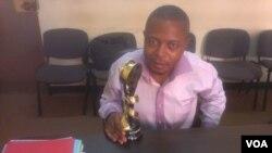 Cameroonian journalist and VOA reporter Moki Edwin Kindzeka