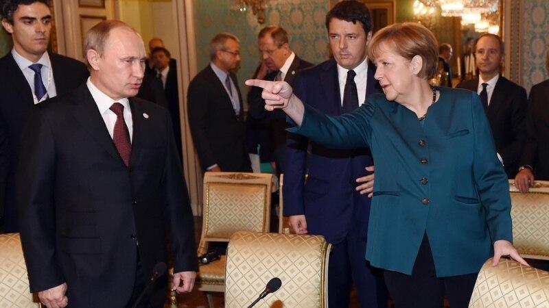 ангела меркель причин отмены антироссийских санкций