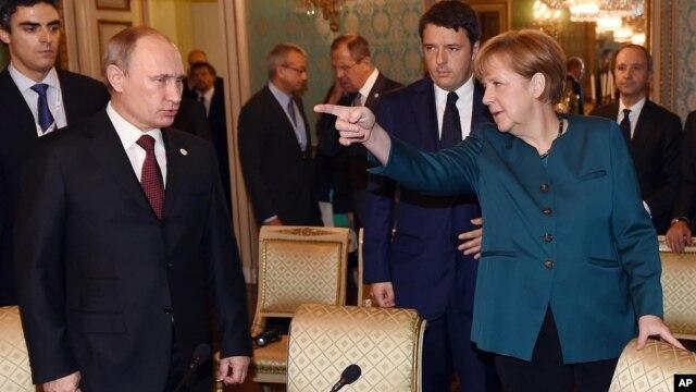 Ông Putin liên kết lý thuyết của ông về những tham vọng chính trị của Tây phương với cuộc khủng hoảng Ukraine.