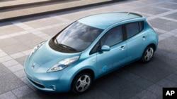 """Nissanov model električnog automobila """"Leaf"""" za ekološki svjesne potrošače"""