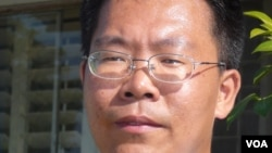 中國維權律師滕彪(資料圖片)