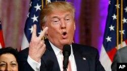 Mgombea wa chama cha Republikan, Donald Trump.