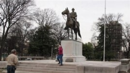Nathan Bedford Forrest Park in Memphis Tennesee