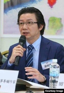 资深军事专家吴明杰(照片提供: 吴明杰)