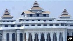 Parlamento birmanês em Nay Pyi Taw