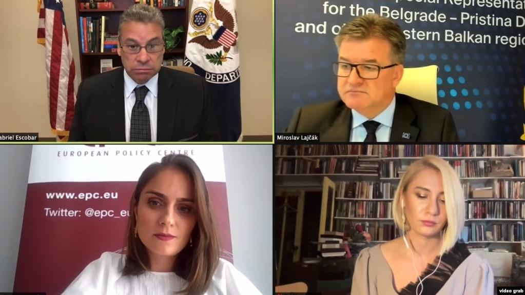 Escobar: Qëllimi nuk është vetëm njohja e ndërsjellë Kosovë – Serbi, por edhe anëtarësimi në BE