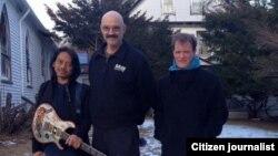 Gitaris Dewa Budjana bersama musisi Tony Levin dan Gary Husband (foto/dok: Dewa Budjana)