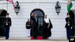 Tổng thống Obama và Tổng thư ký Hội đồng Hợp tác Vùng Vịnh Abdul Latif bin Rashid Al Zayani tại Toà Bạch Ốc