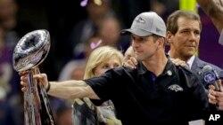 Джон Харбо, тренер команды Baltimore Ravens