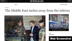 مقاله دیوید ایگنیشس در واشنگتن پست: خاورمیانه چند سانتیمتر دورتر از جهنم