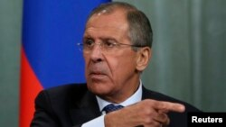 Menteri LN Rusia Sergei Lavrov menuduh para pejabat Amerika berusaha memeras Rusia (foto: dok).