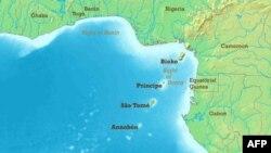Bản đồ Vịnh Guinea