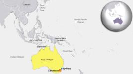 East China Sea, Darwin, Australia