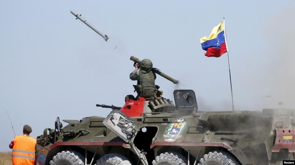 Resultado de imagen para misiles tierra-aire rusos venezuela