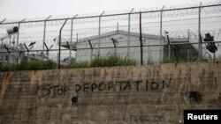 کمپ مهاجرین در لیسبوس