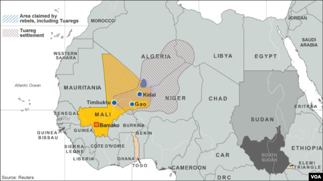 Tuareg Settlements