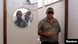 Theo Bronkhorst a Hwange, au Zimbabwe le 15 octobre 2015. Source: Reuters