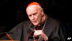 Hồng y Theodore McCarrick mới đây đã được chấp thuận cho từ chức do bê bối ấu dâm