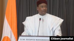 Shugaban kasar jamhuriyar Nijar Issoufou Mahamadou