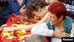 Sahrana žrtava u Ankari, Turska 11. oktobar 2015.