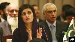 وزیر خارجہ حنا ربانی کھر اجلاس کی صدارت کررہے ہیں