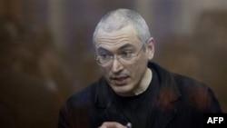 Михайло Ходорковський після оголошення йому вироку