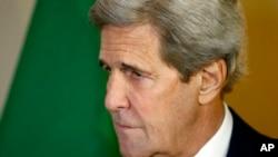 Waziri wa mambo ya anje wa Marekani John Kerry katika picha