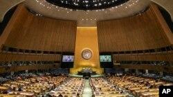 پیر کو اقوامِ متحدہ کی جنرل اسمبلی کے 75ویں اجلاس کے سلسلے میں تعارفی سیشن ہوا۔