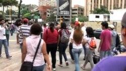Oposición venezolana marcha hasta la embajada de Cuba